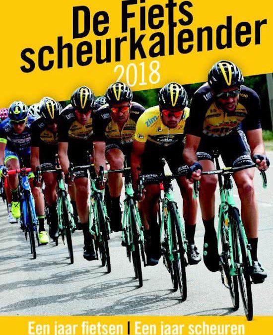 Dagelijks portie wielrennen met de Fiets scheurkalender 2018