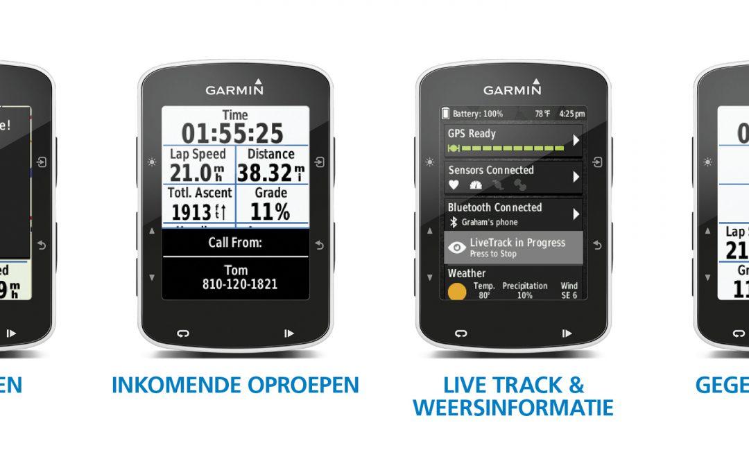 Nieuwe Garmin 520 met live Strava segmenten
