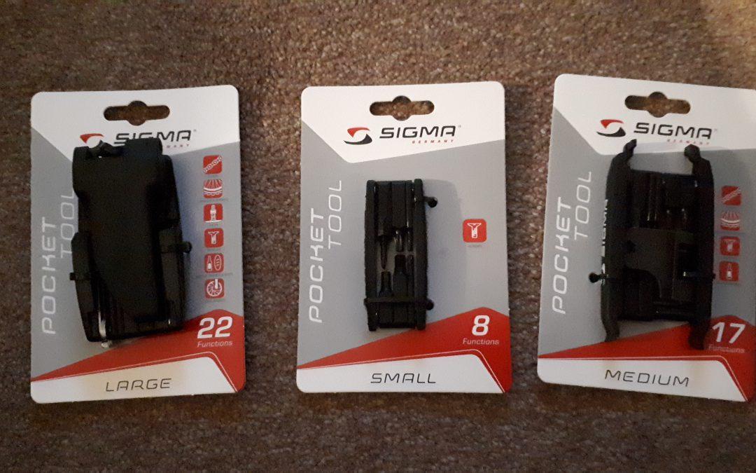 Nieuwe pocket tools van Sigmasport