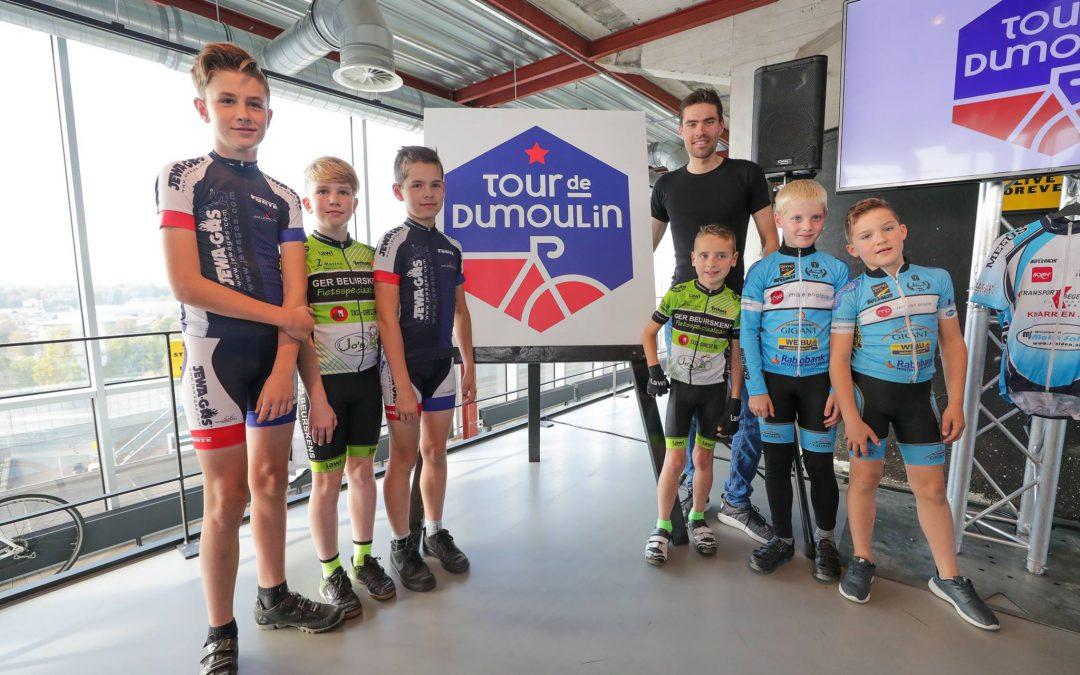 Tom Dumoulin start nieuwe wielerdag