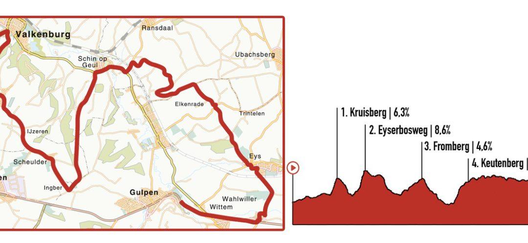 route-virutele amstel gold race
