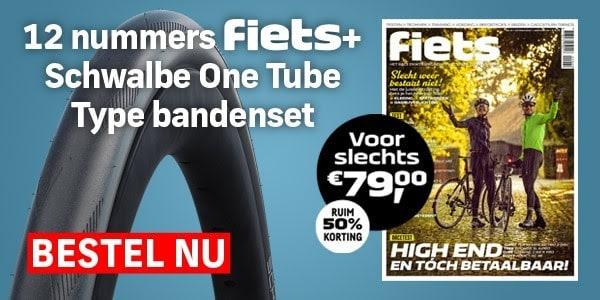 Schwalbe One Tube Type bandenset cadeau bij 12 nummers Fiets
