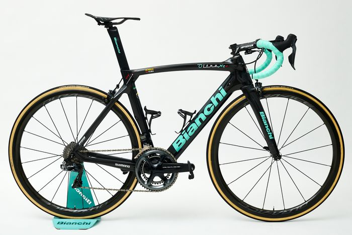 Koop een unieke Bianchi met verhaal van Lotto Jumbo